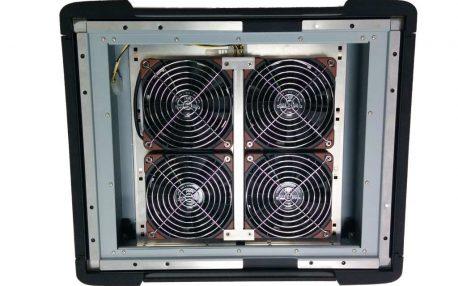 Desert filter back quad fan