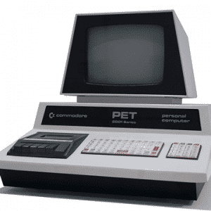 My school computer - the only one for a while - commodore PET 1977