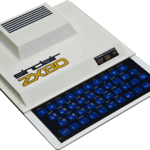 Sinclair ZX80 - portable computer with the least rugged RAM expansion pack ever!