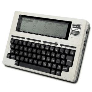 TRS80-model 100 handheld computer