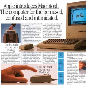 Apple Mac advert from 1984
