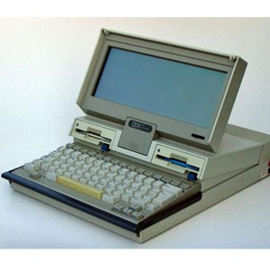 IBM Convertible PC Portable computer