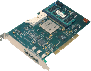 DAP 1394 card for Aerospace applications