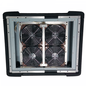 Filter system for high temperature environments