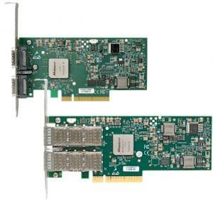 Melinox Infiniband PCIe cards