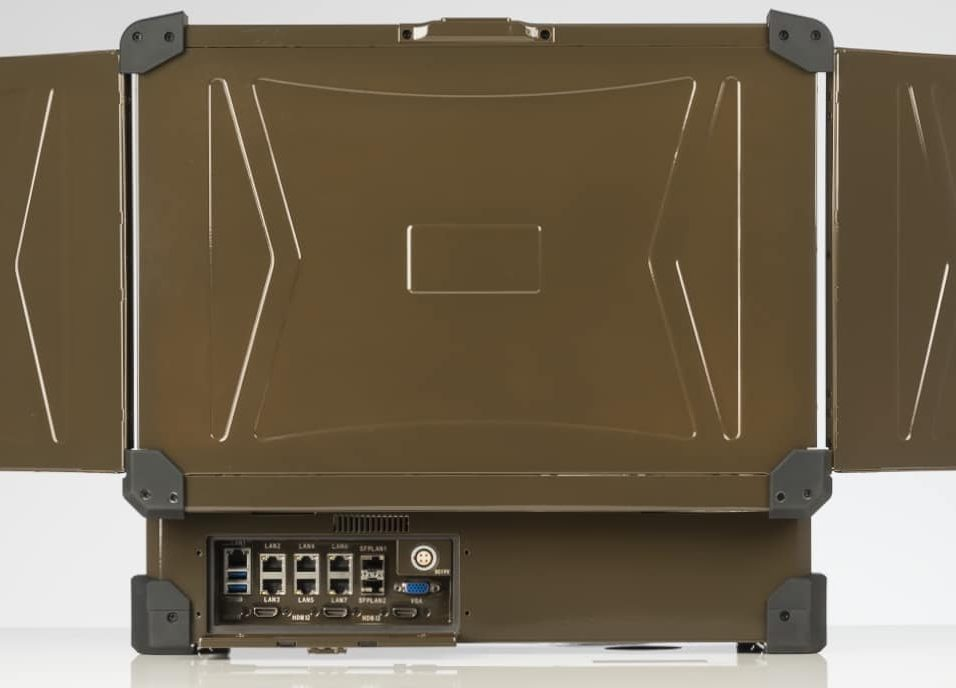 Server class Ethernet I/o on rear panel