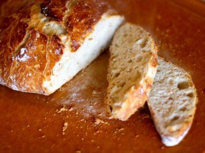 All purpose flour used - no knead bread