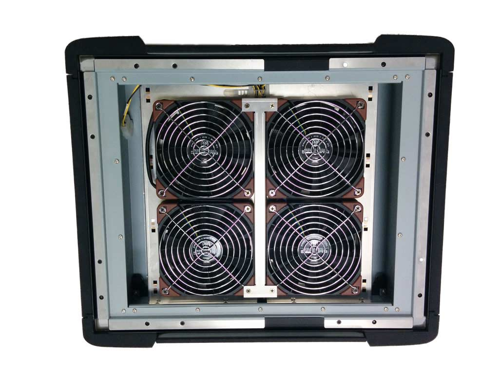Desert filter back quad fan